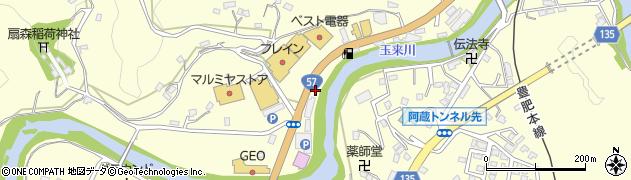 大分県竹田市拝田原752周辺の地図