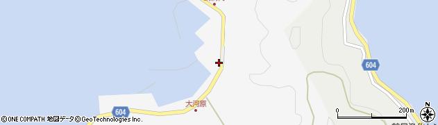 大分県佐伯市鶴見大字吹浦1864周辺の地図