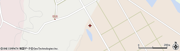 大分県佐伯市弥生大字門田1675周辺の地図