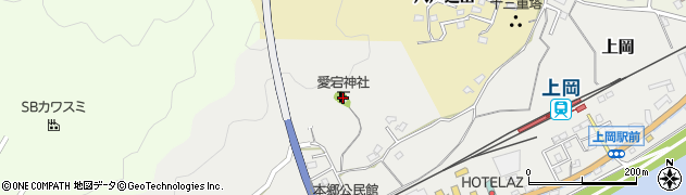 大分県佐伯市上岡1689周辺の地図