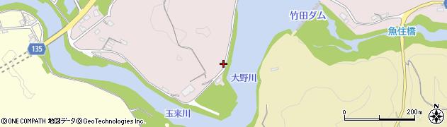 大分県竹田市竹田1033周辺の地図