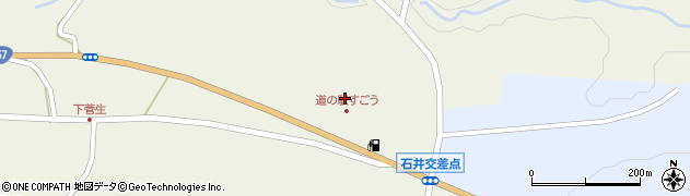 大分県竹田市菅生989周辺の地図