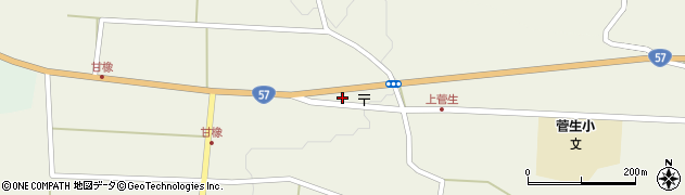 大分県竹田市菅生1178周辺の地図