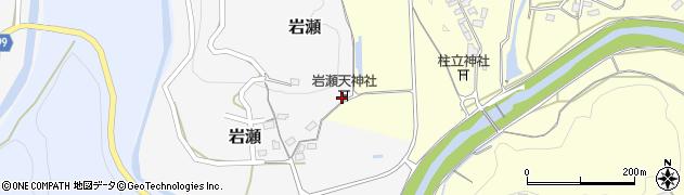 大分県竹田市岩瀬211周辺の地図