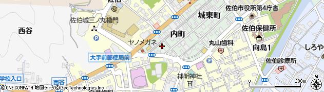 大分県佐伯市内町7周辺の地図