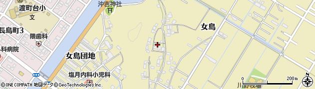 大分県佐伯市8195周辺の地図