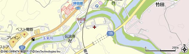 大分県竹田市玉来334周辺の地図
