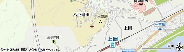 大分県佐伯市上岡1824周辺の地図