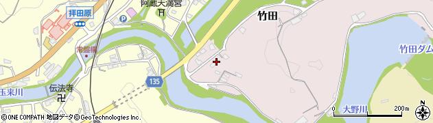 大分県竹田市竹田1172周辺の地図
