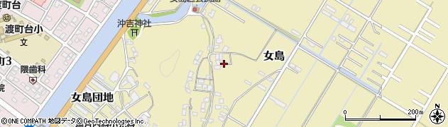 大分県佐伯市8279周辺の地図