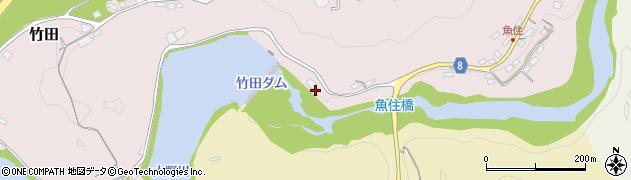 大分県竹田市竹田608周辺の地図