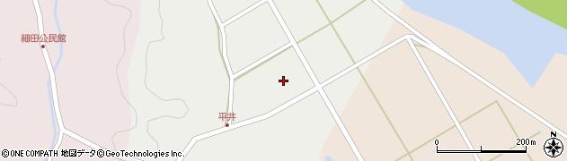 大分県佐伯市弥生大字平井630周辺の地図