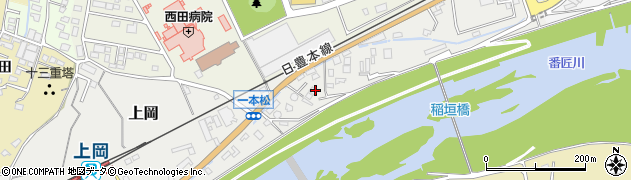 大分県佐伯市上岡203周辺の地図