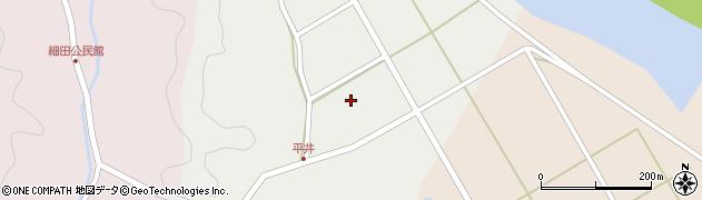 大分県佐伯市弥生大字平井618周辺の地図