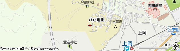 大分県佐伯市上岡1838周辺の地図