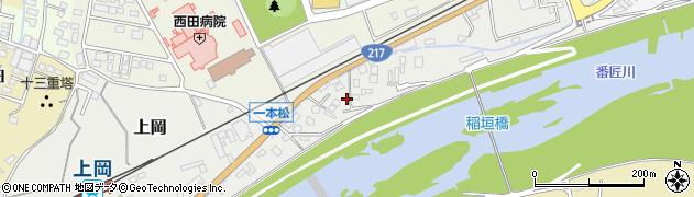 大分県佐伯市上岡205周辺の地図