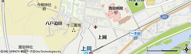 大分県佐伯市上岡1283周辺の地図