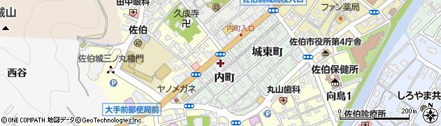 大分県佐伯市内町1周辺の地図