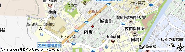 大分県佐伯市内町2-30周辺の地図