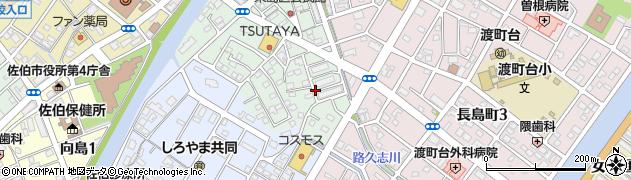 大分県佐伯市来島町16周辺の地図