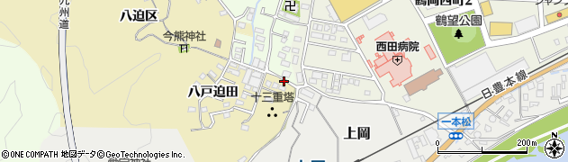 大分県佐伯市上岡1778周辺の地図
