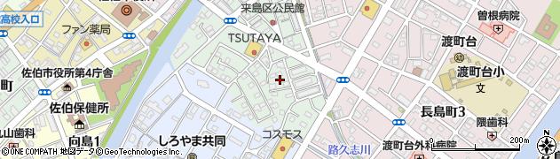 大分県佐伯市来島町15周辺の地図