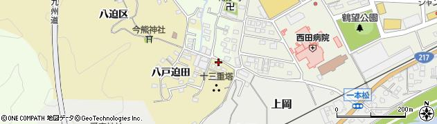 大分県佐伯市上岡1779周辺の地図