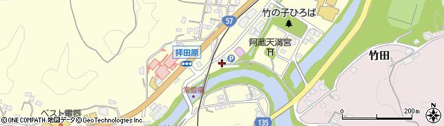 大分県竹田市拝田原246周辺の地図