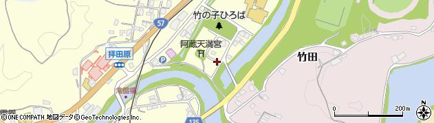 大分県竹田市玉来86周辺の地図