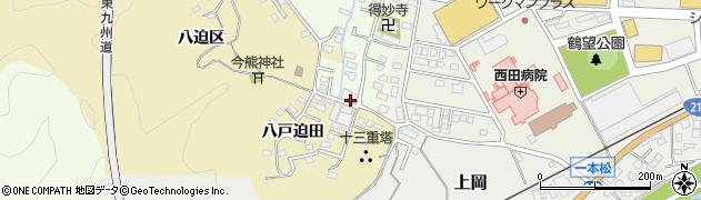 大分県佐伯市稲垣523周辺の地図