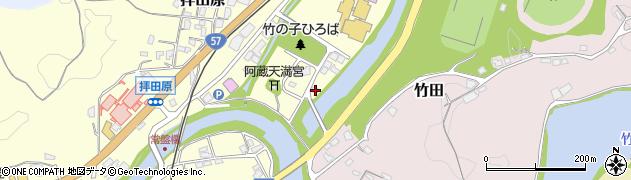 大分県竹田市玉来63周辺の地図