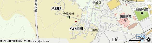 大分県佐伯市上岡1882周辺の地図
