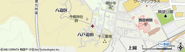 大分県佐伯市上岡1806周辺の地図