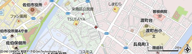 大分県佐伯市来島町18周辺の地図
