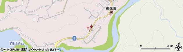 大分県竹田市竹田834周辺の地図