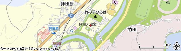 大分県竹田市玉来80周辺の地図