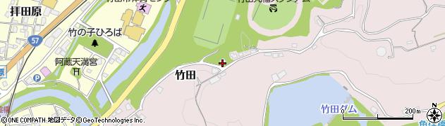 大分県竹田市竹田1293周辺の地図