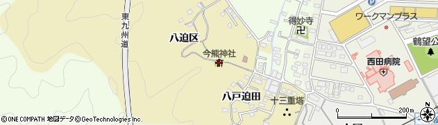 大分県佐伯市上岡1875周辺の地図