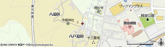 大分県佐伯市上岡1886周辺の地図
