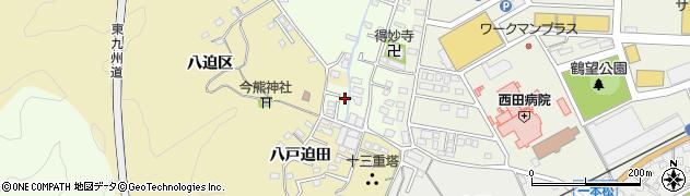 大分県佐伯市稲垣291周辺の地図