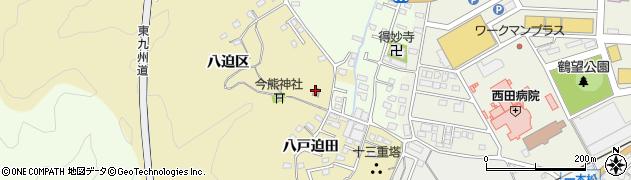 大分県佐伯市上岡1888周辺の地図