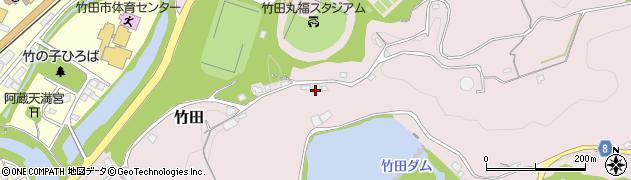 大分県竹田市竹田1245周辺の地図