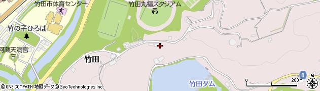 大分県竹田市竹田1246周辺の地図