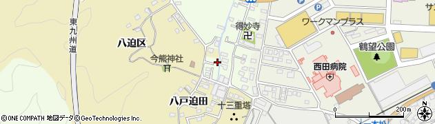 大分県佐伯市稲垣292周辺の地図