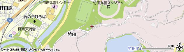 大分県竹田市竹田1286周辺の地図