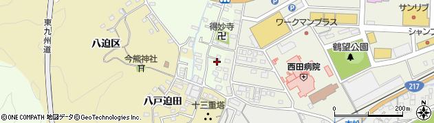 大分県佐伯市稲垣518周辺の地図