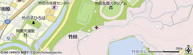 大分県竹田市竹田1285周辺の地図