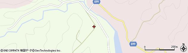 大分県竹田市向山田245周辺の地図