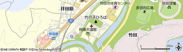 大分県竹田市玉来2周辺の地図