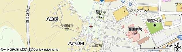 大分県佐伯市稲垣520周辺の地図